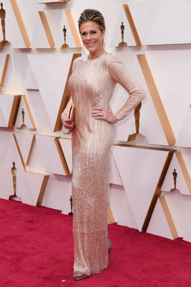 Rita Wilson on 2020 Oscars red carpet
