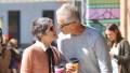 Selma Blair meets up with boyfriend David Lyons over coffee