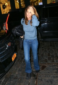 Cindy Crawford out and about, New York, USA - 04 Feb 2020