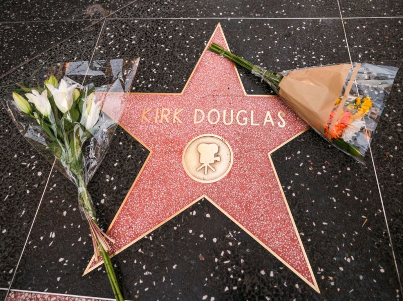 Kirk Douglas Star on the Hollywood Walk of Fame tribute, Los Angeles, USA - 05 Feb 2020