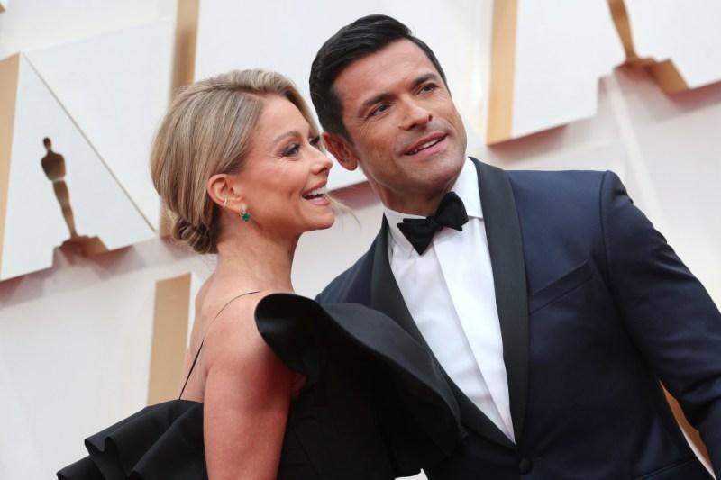 Kelly Ripa and Mark Consuelos 92nd Annual Academy Awards, Arrivals, Los Angeles, USA - 09 Feb 2020