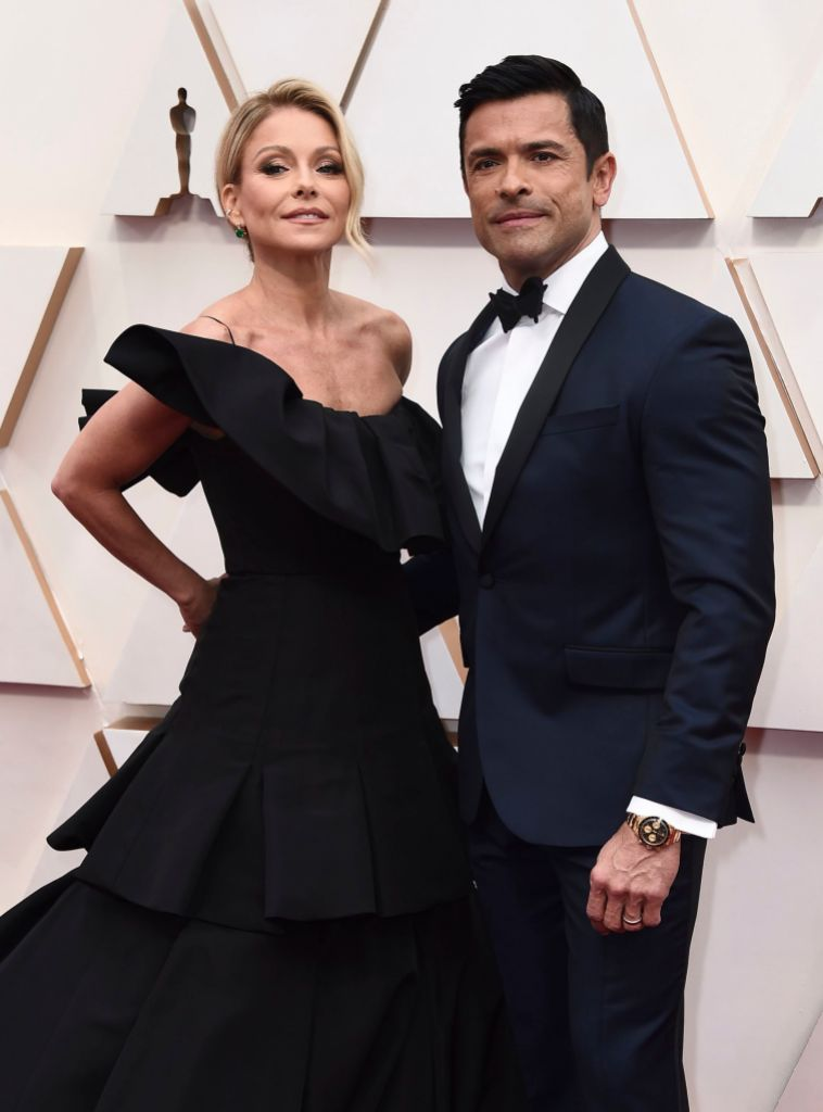 Mark Consuelos and Kelly Ripa Together 92nd Academy Awards - Arrivals, Los Angeles, USA - 09 Feb 2020