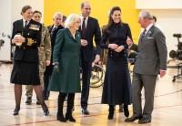 British Royals visit to Leicestershire, UK - 11 Feb 2020