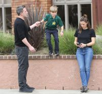 Ben Affleck and Jennifer Garner out and about, Los Angeles, USA - 27 Feb 2020