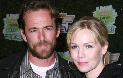 Jennie Garth Luke Perry