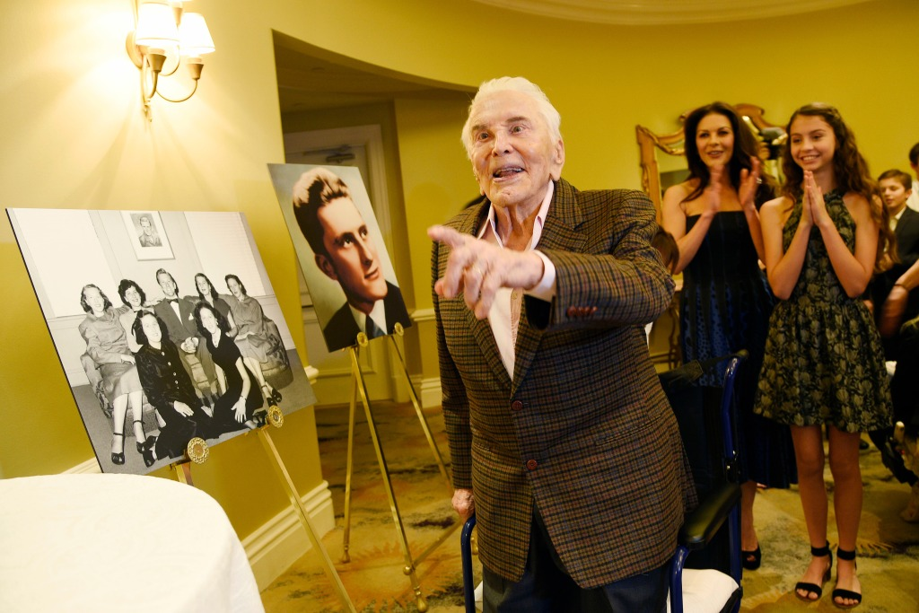 Kirk Douglas' 100th Birthday Celebration, Beverly Hills, USA