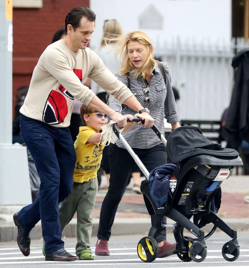 Claire Danes family