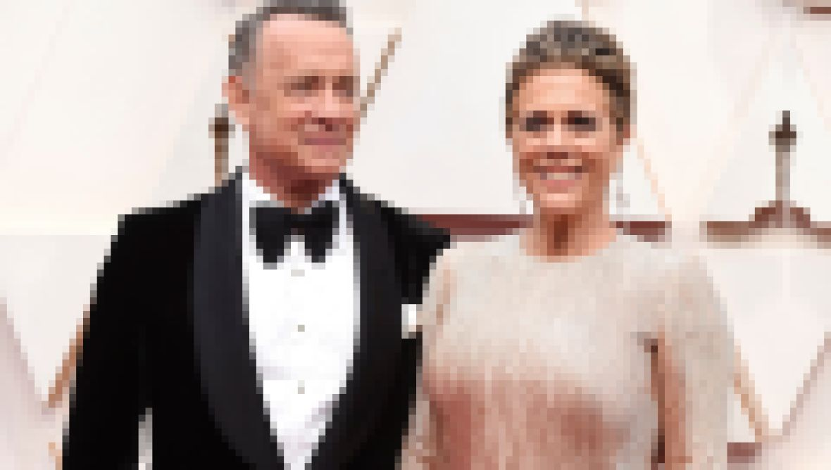 Tom Hanks and Rita Wilson on 2020 Oscars red carpet