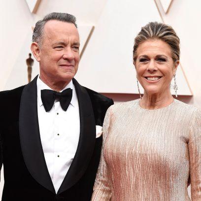 Tom Hanks and Rita Wilson on 2020 Oscars red carpet