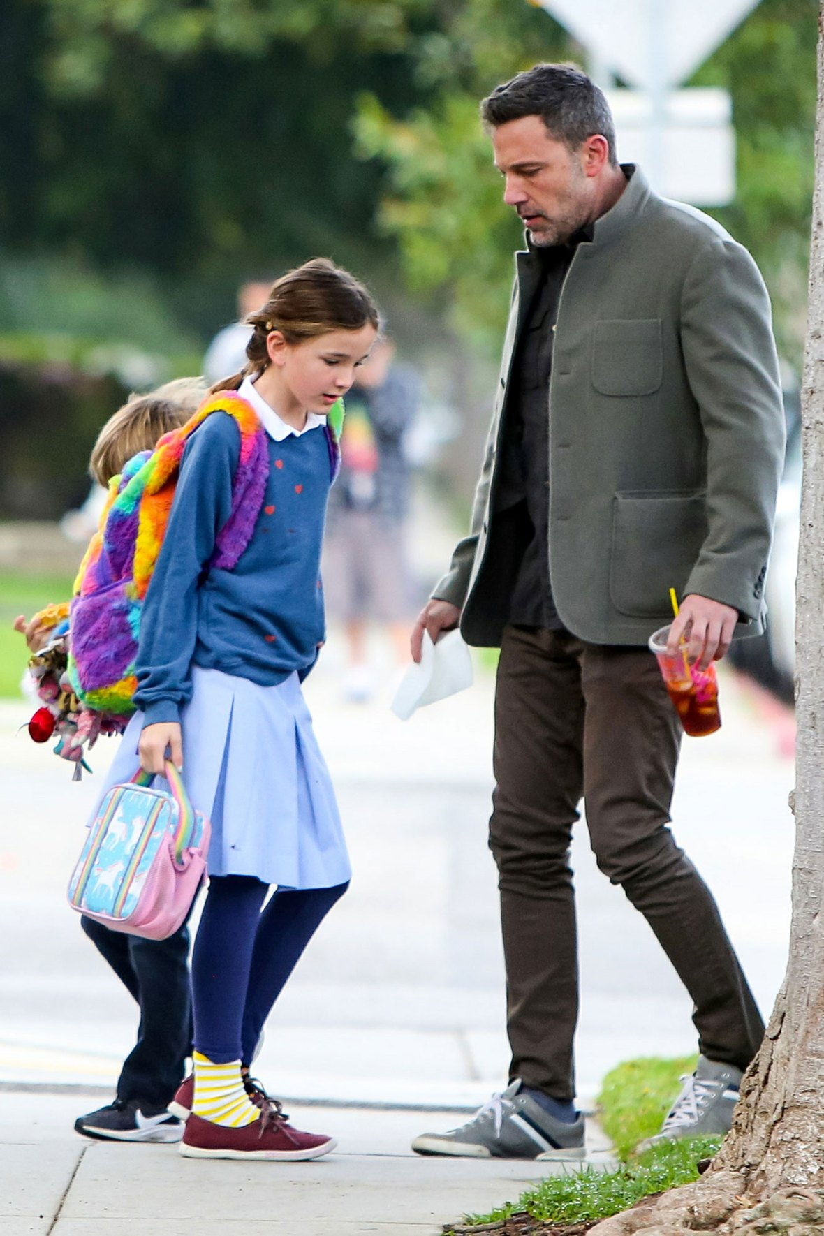 Ben-Affleck-Out-With-Seraphina-and-Samuel