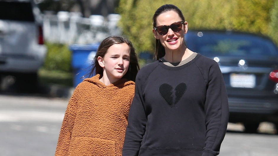 Jennifer Garner and Seraphina Affleck Smile and Hold Hands on Walk