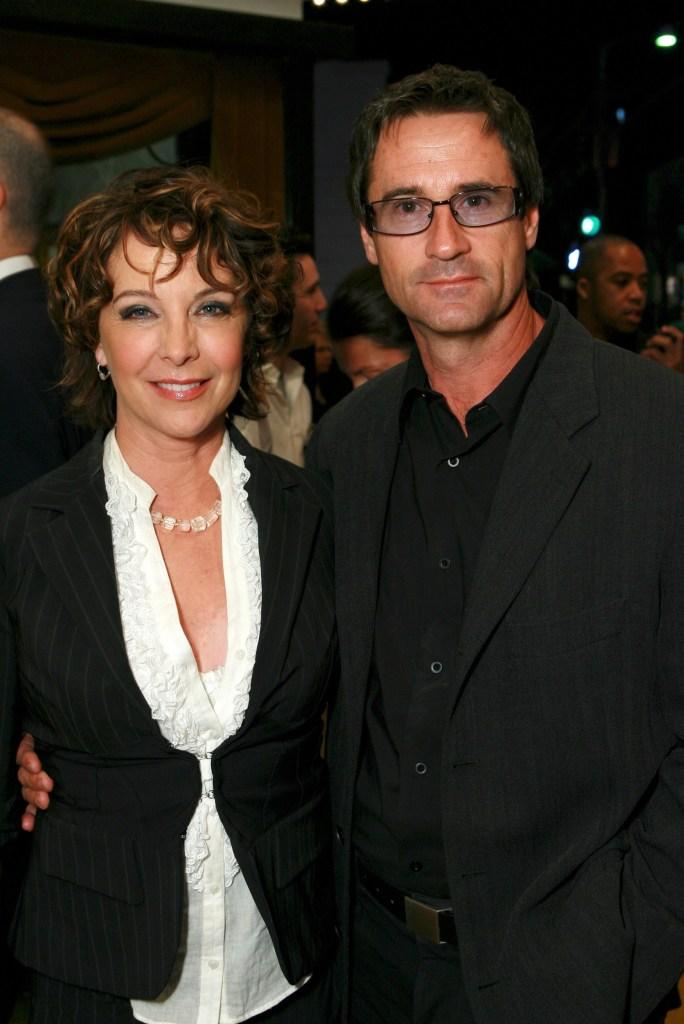 Kathleen Quinlan and Husband Bruce Abbott