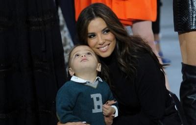 Eva Longoria and son