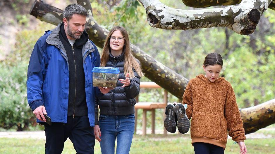 Ben AffleckSpending time with his kids.