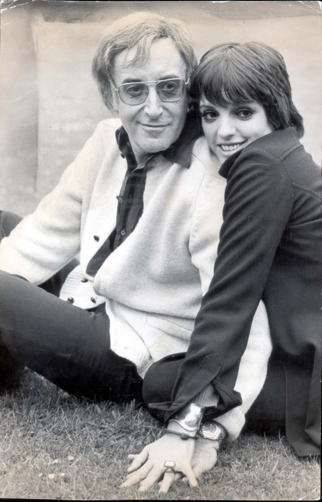 Peter Sellers And Liza Minnelli At Shepperton Studios In 1973 Liza The 27-year-old Daughter Of Judy Garland Said: 'it's Just Fabulous To Be In Love With A Genius.' The Couple Strolled Hand-in-hand Across A Lawn Outside Shepperton Studios Middlesex