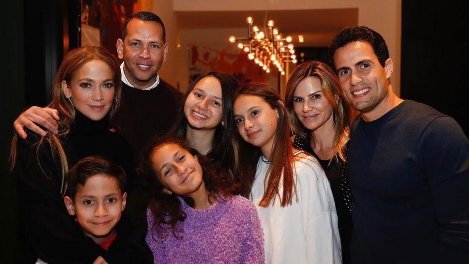 Jennifer Lopez's family