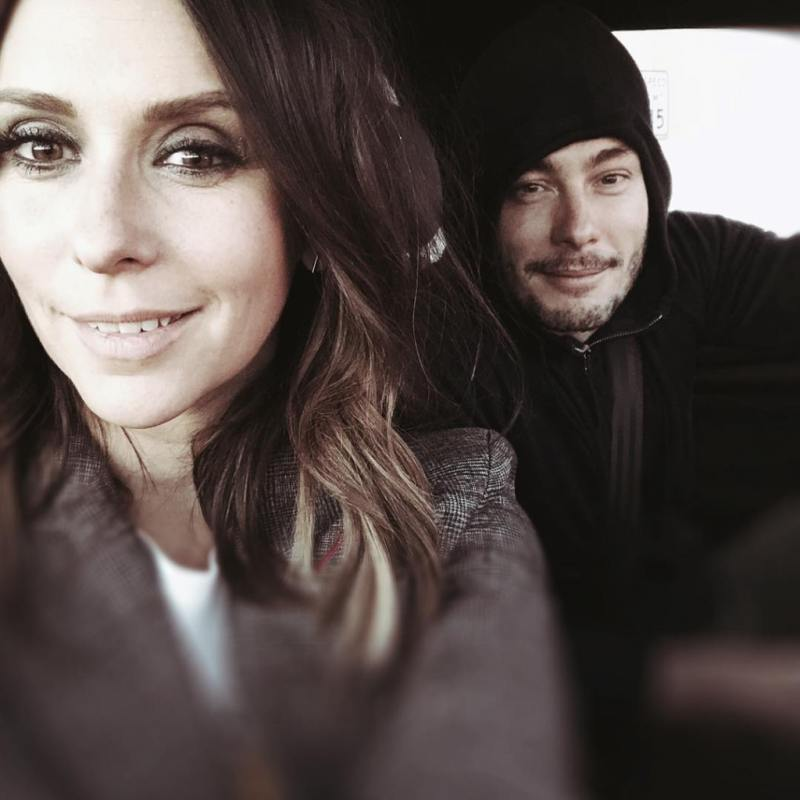 Jennifer Love Hewitt and husband
