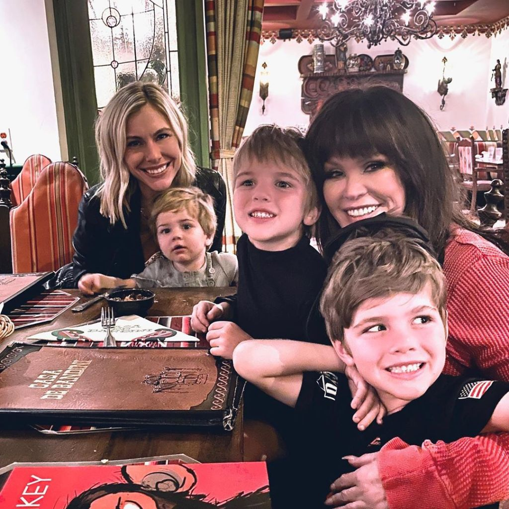 Marie Osmond and daughter-in-law Claire