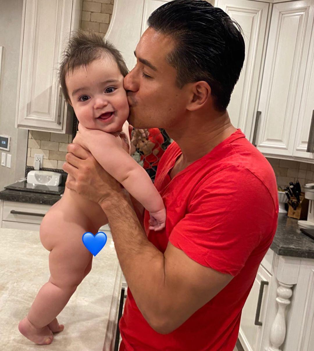 Mario Lopez Celebrates Baby Santino S Birthday With Sweet Pic