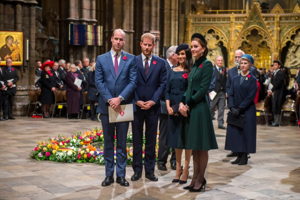 National Service to mark the Centenary of the Armistice, Westminster Abbey, London, UK - 11 Nov 2018