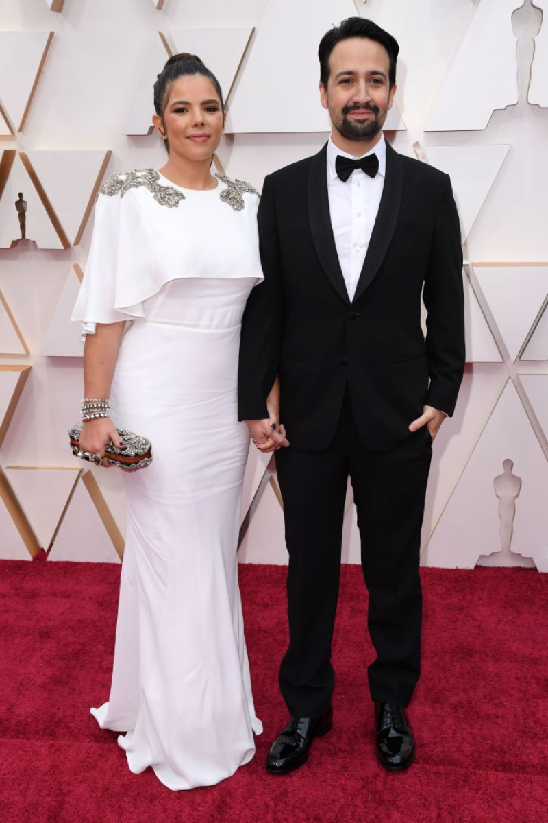 Lin-Manuel Miranda and wife