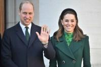 Prince William and Catherine Duchess of Cambridge visit to Ireland - 03 Mar 2020