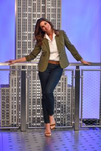 Cindy Crawford lights The Empire State Building, New York, USA, New York, USA - 03 Mar 2020