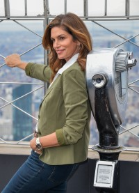 Cindy Crawford lights The Empire State Building, New York, USA - 03 Mar 2020