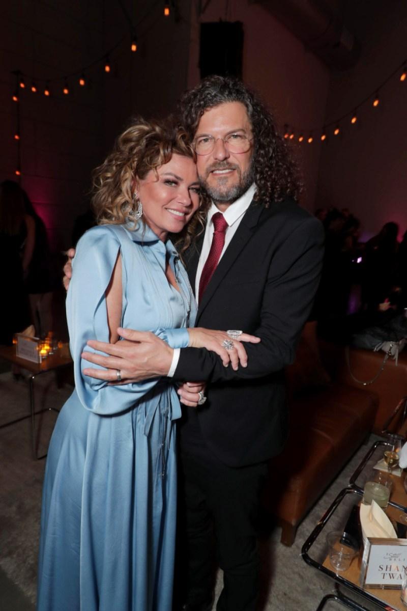 Shania Twain husband