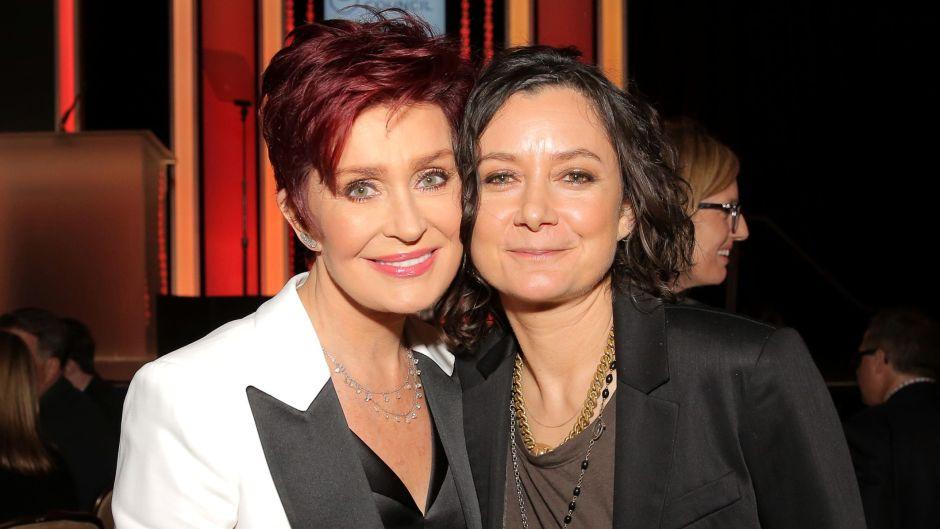 Sharon Osbourne and Sara Gilbert