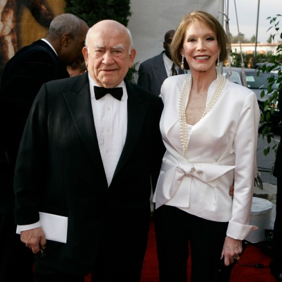 Ed Asner and Mary Tyler Moore