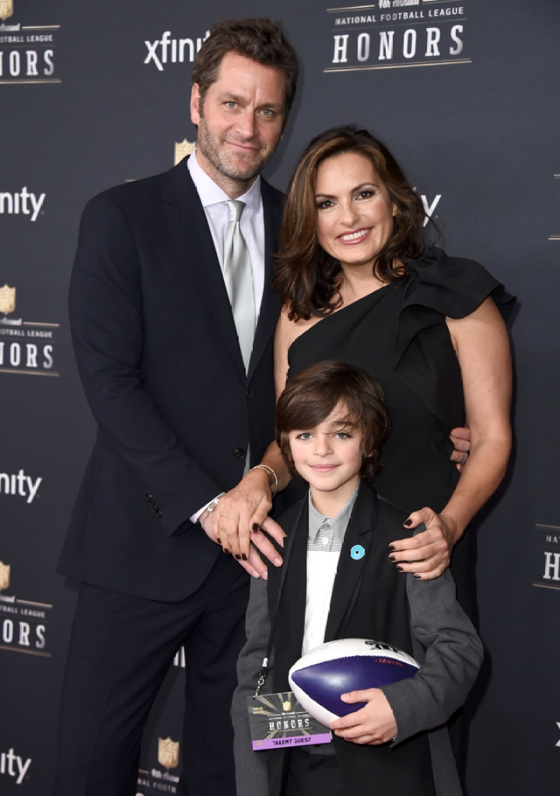 Mariska Hargitay's family