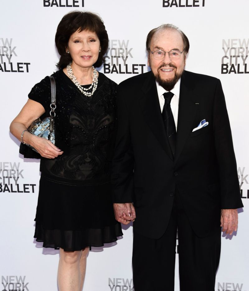 James Lipton and wife