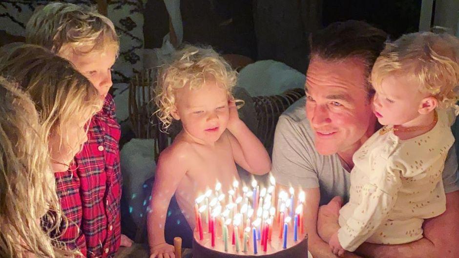 James Van Der Beek With Family