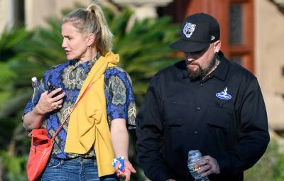 Cameron Diaz on Instagram Live Gushing About Benji Madden