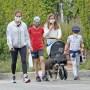 Jennifer Garner and Kids Wear Face Masks on Walk Amid Coronavirus