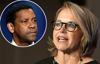 Katie Couric Recalls Uncomfortable Interview With Denzel Washington