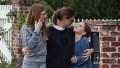 Jennifer Garner takes her kids for a walk with her assistant during Coronavirus quarantine