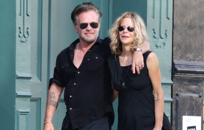 Meg Ryan and John Mellencamp happy holding hands while on romantic stroll in NYC