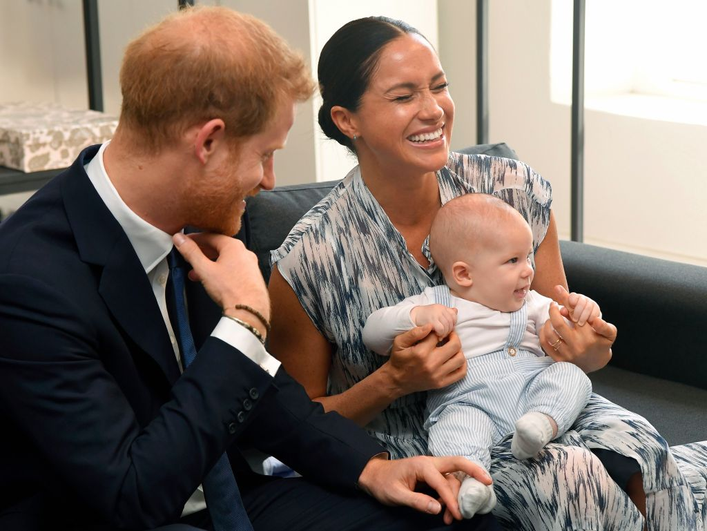 Prince Harry Meghan Markle Archie Photos