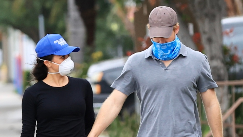 Prince Harry and Meghan Markle Hold Hands While Volunteering in Los Angeles