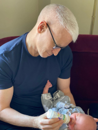 Anderson Cooper With Son