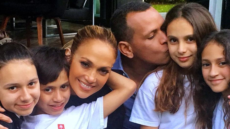 JENNIFER LOPEZ ALEX RODRIGUEZ KIDS
