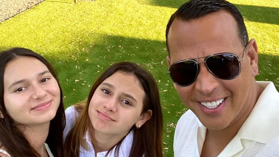Alex Rodriguez and kids