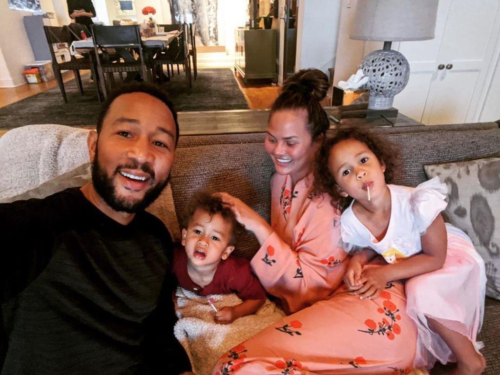 Chrissy Teigen John Legend Family