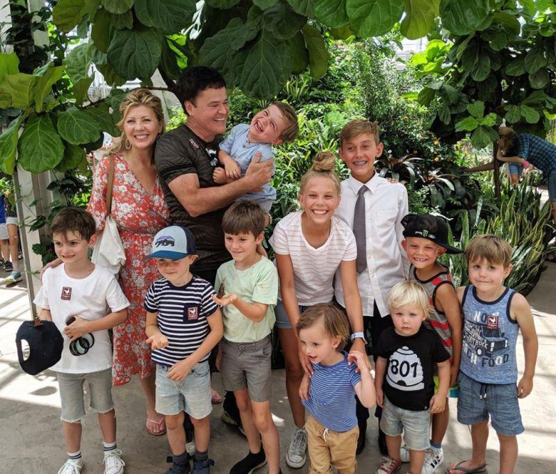 Donny Osmond grandkids