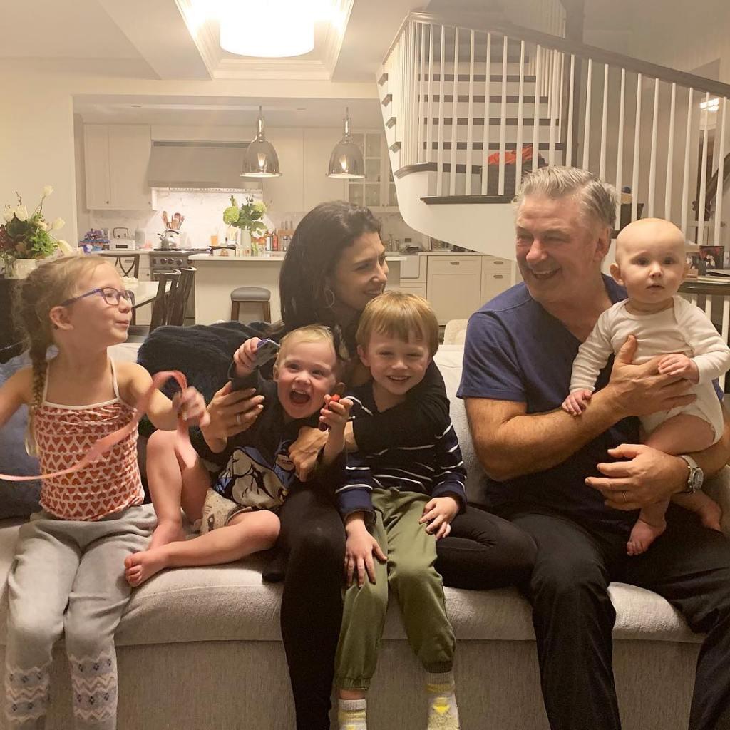 Hilaria Baldwin's family