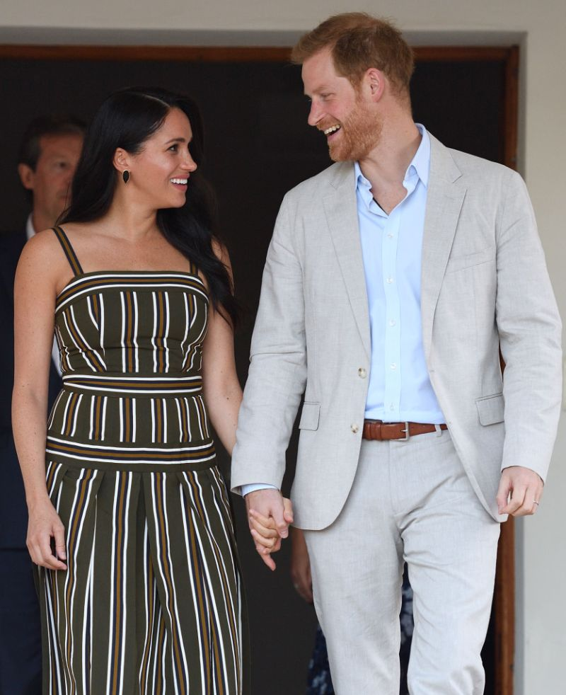 Prince Harry and Meghan Duchess of Sussex visit to Africa - 24 Sep 2019