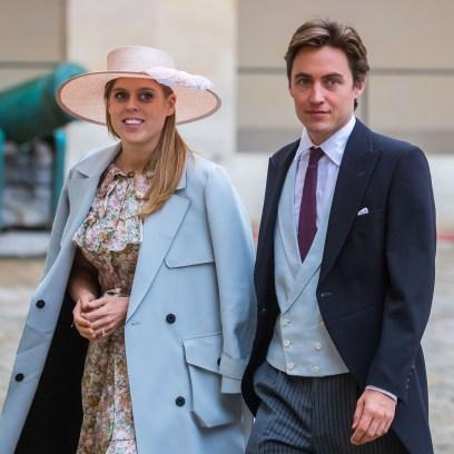 Prince Napoleon's wedding ceremony in Paris, France - 19 Oct 2019