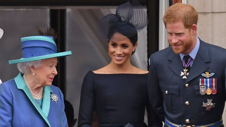Meghan, Harry and the queen